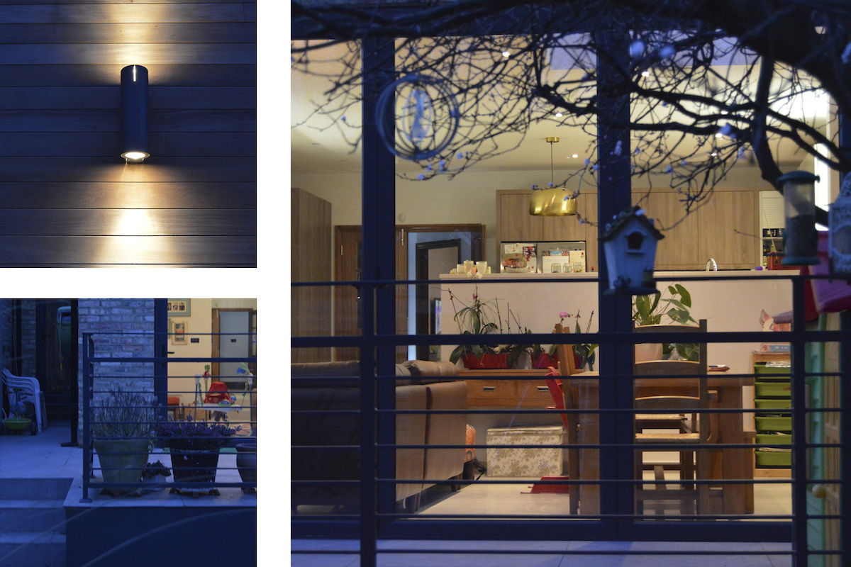 Architect designed house extension Grange Park Enfield N21 Night view 1 1200x800 Grange Park, Enfield N21 – House extension and alterations