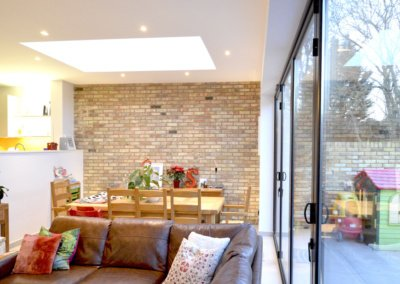 Architect designed house extension Grange Park Enfield N21 View inside out 1200x800 1 400x284 GOA Studio | London Residential Architecture