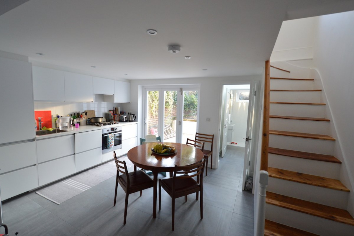Architect designed house extension with full refurbishment Lewisham SE13 View of ground floor1 1200x800 Lewisham SE13 | House extension and full refurbishment