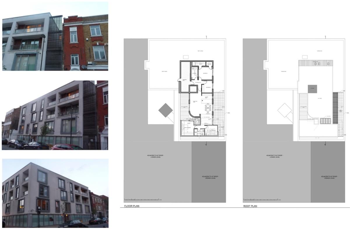 Architect designed penthouse extension Angel Islington N1 Site plans 1200x800 Angel, Islington N1 | Penthouse extension