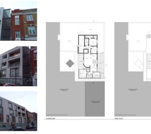 Architect designed penthouse extension Angel Islington N1 Site plans 300x266 Angel, Islington N1 | Penthouse extension