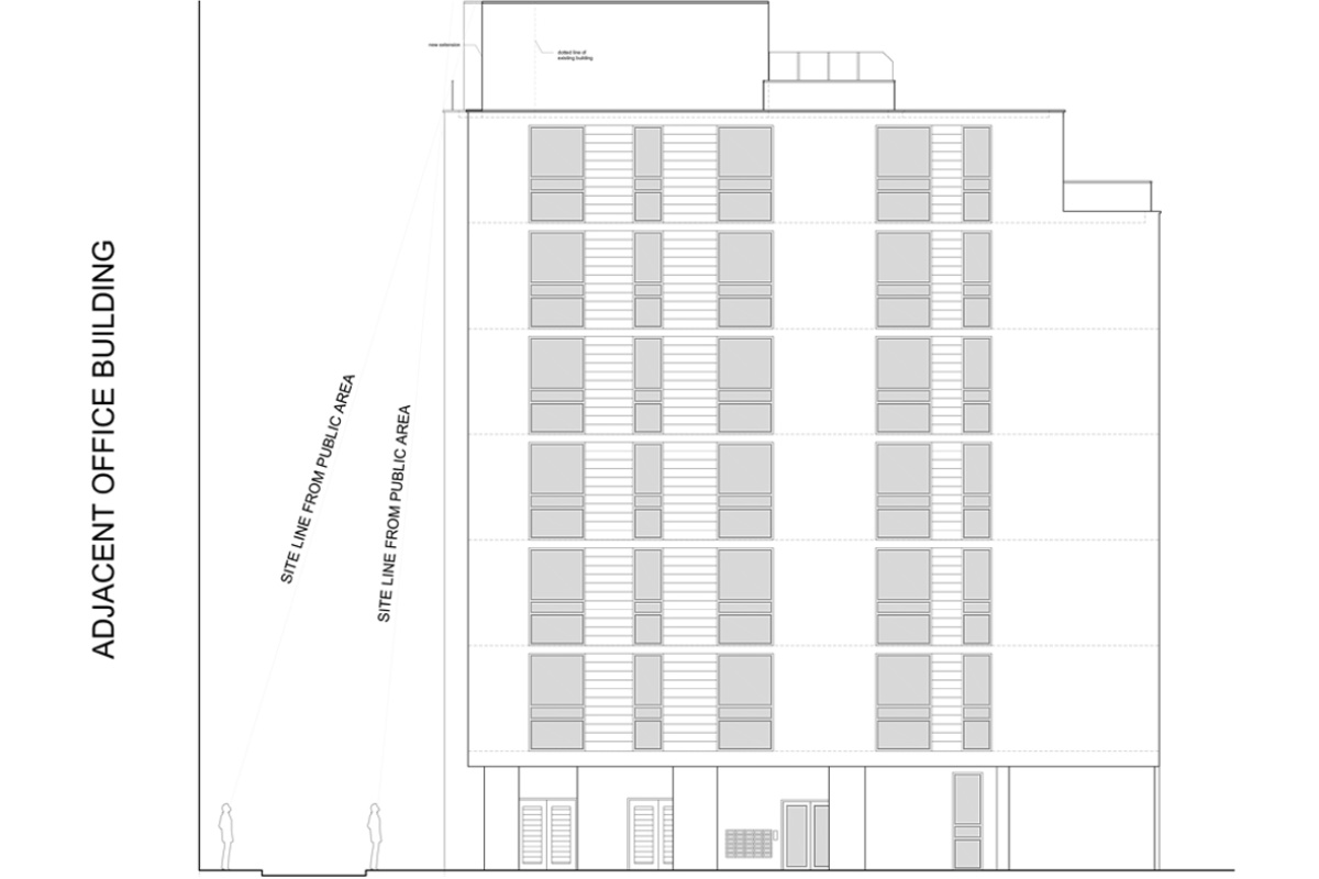 Architect designed penthouse extension Barbican Islington EC1Y North Elevation 1 1200x800 Barbican, Islington EC1Y | Penthouse extension