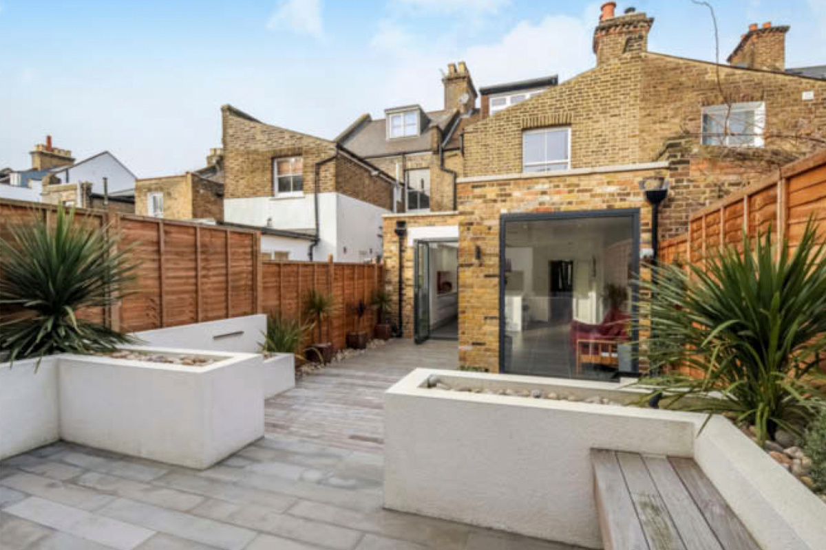 Architect designed rear house extension Herne Hill SE24 Lambeth View from the garden 1200x800 Herne Hill, Lambeth SE24 | House extension