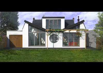 Architect designed residential extension Stoneleigh KT17 – Rear elevation copy 400x284 Portfolio Grid | GOA Studio | London Residential Architecture