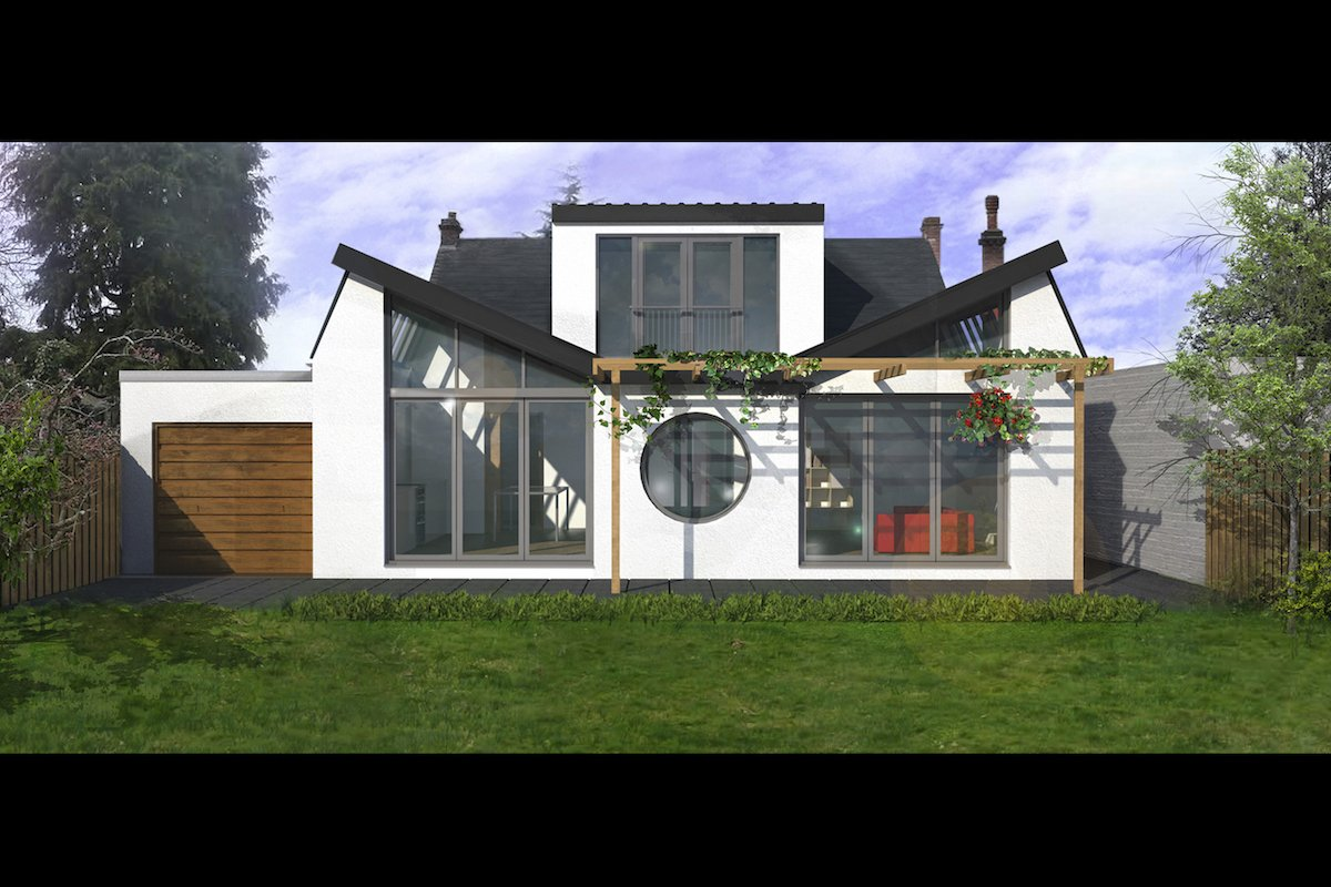 Stoneleigh Kt17 Extension And Alterations To A Bungalow