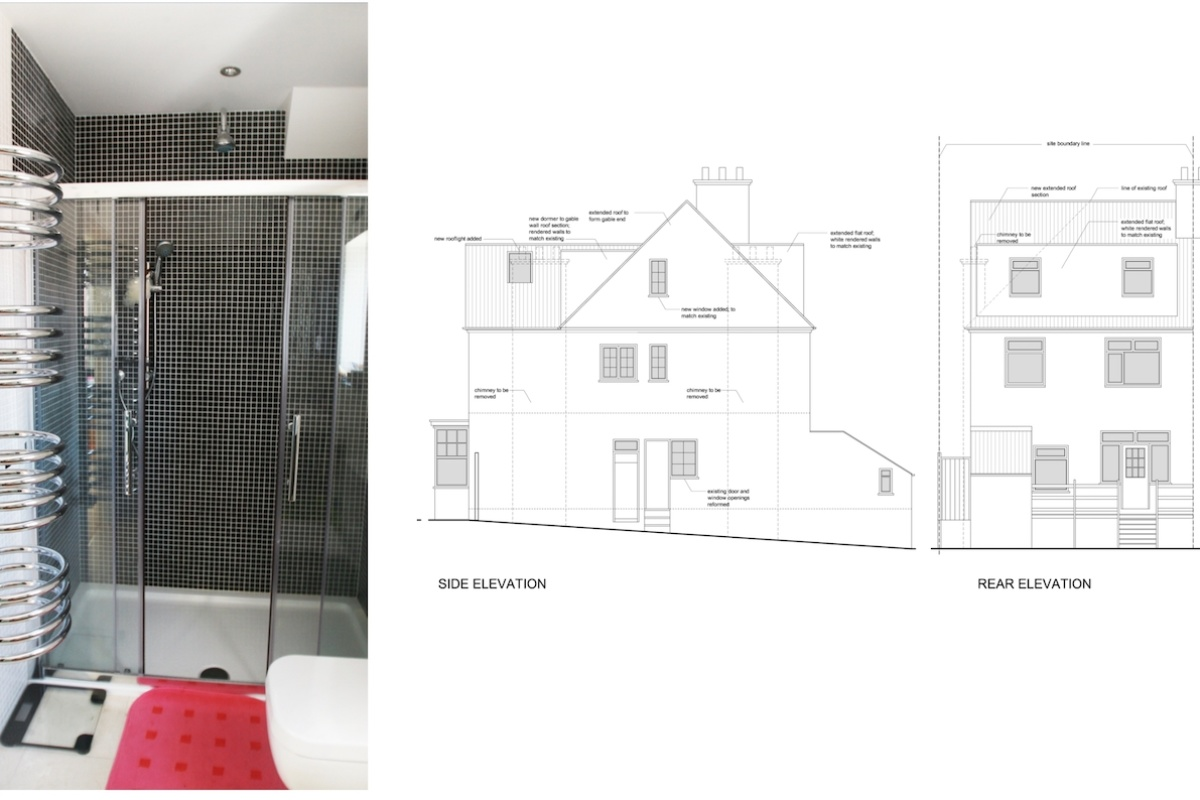 Golders Green Barnet NW11 House extension Design elevations1 1200x800 Golders Green II, Barnet NW11 | House extension