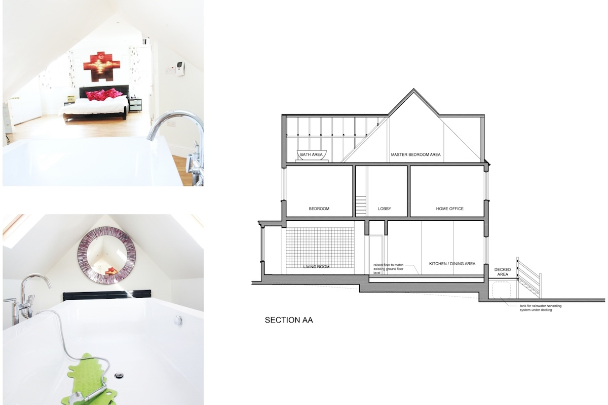 Golders Green Barnet NW11 House extension Design section 1200x800 Golders Green II, Barnet NW11 | House extension