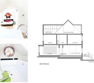 Golders Green Barnet NW11 House extension Design section 300x266 Golders Green II, Barnet NW11 | House extension