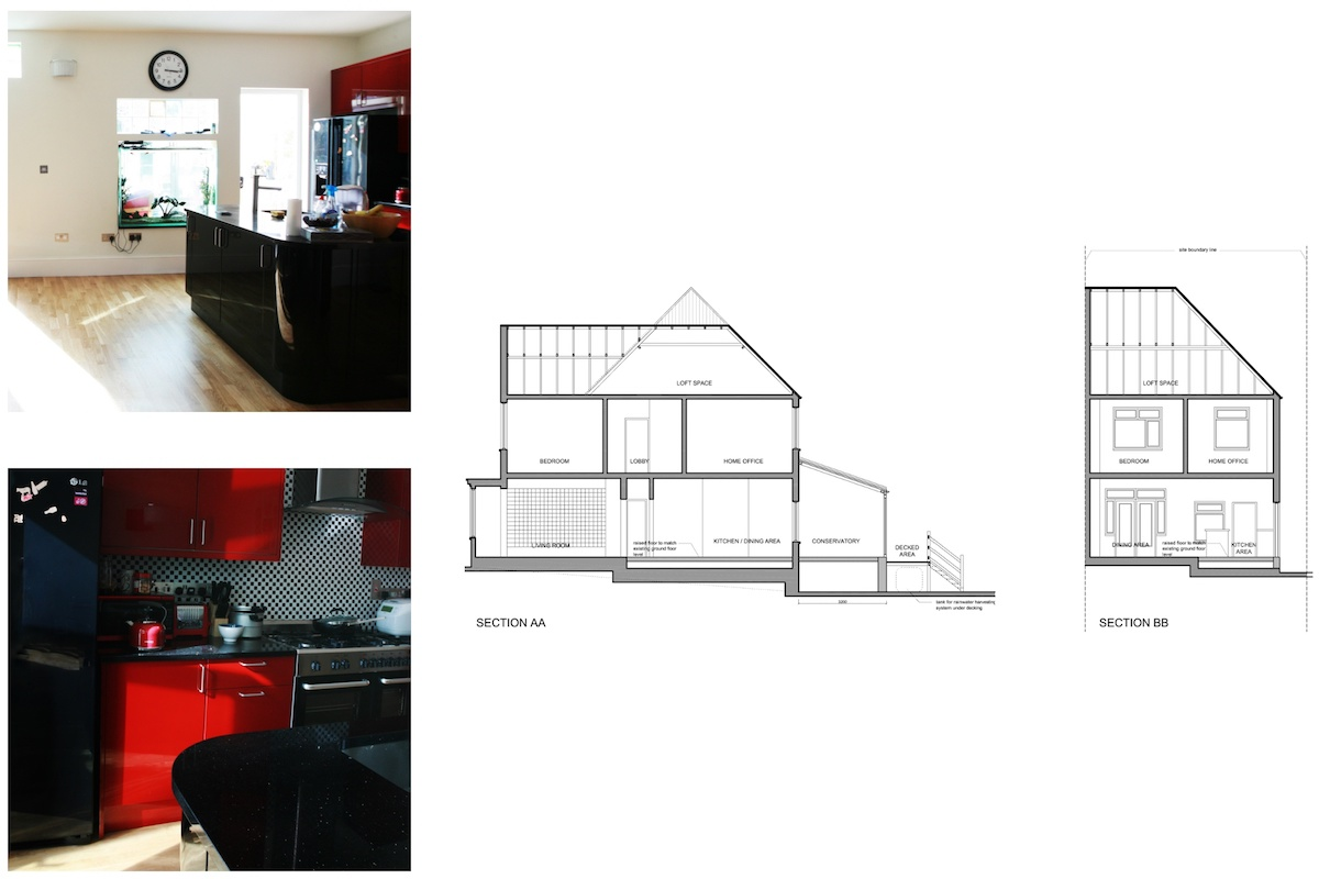 Golders Green Barnet NW11 House extension Design sections 1200x800 Golders Green I, Barnet NW11 | House rear extension