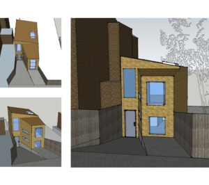 Highgate Haringey N8 Residential development feasibility study 3D images 300x266 Highgate N8   Residential development feasibility study
