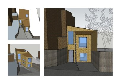 Highgate Haringey N8 Residential development feasibility study 3D images 400x284 Portfolio Grid | GOA Studio | London Residential Architecture