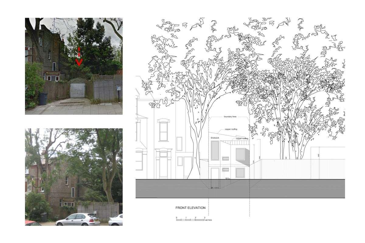 Highgate Haringey N8 Residential development feasibility study Elevation 1200x800 Highgate N8   Residential development feasibility study