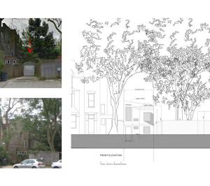 Highgate Haringey N8 Residential development feasibility study Elevation 300x266 Highgate N8   Residential development feasibility study