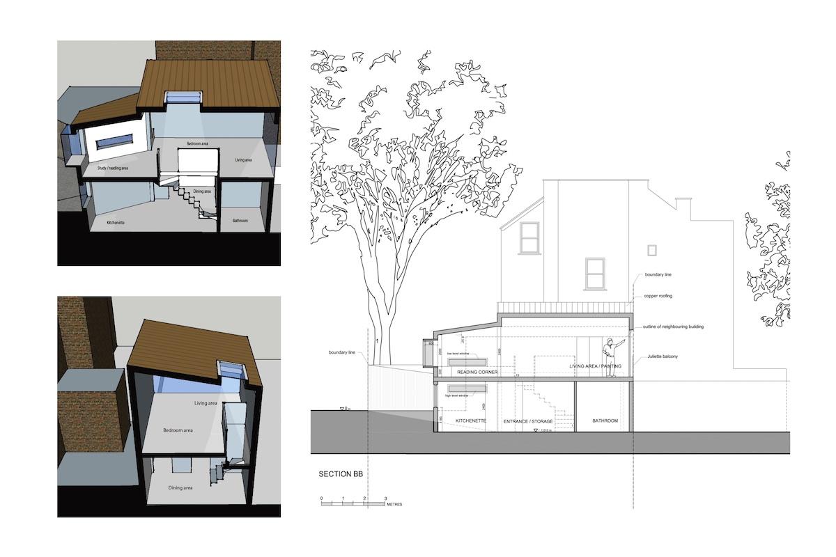 Highgate Haringey N8 Residential development feasibility study Sections 1200x800 Highgate N8   Residential development feasibility study