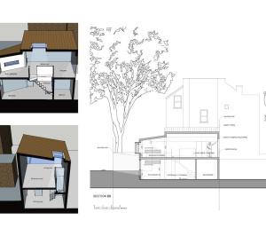 Highgate Haringey N8 Residential development feasibility study Sections 300x266 Highgate N8   Residential development feasibility study