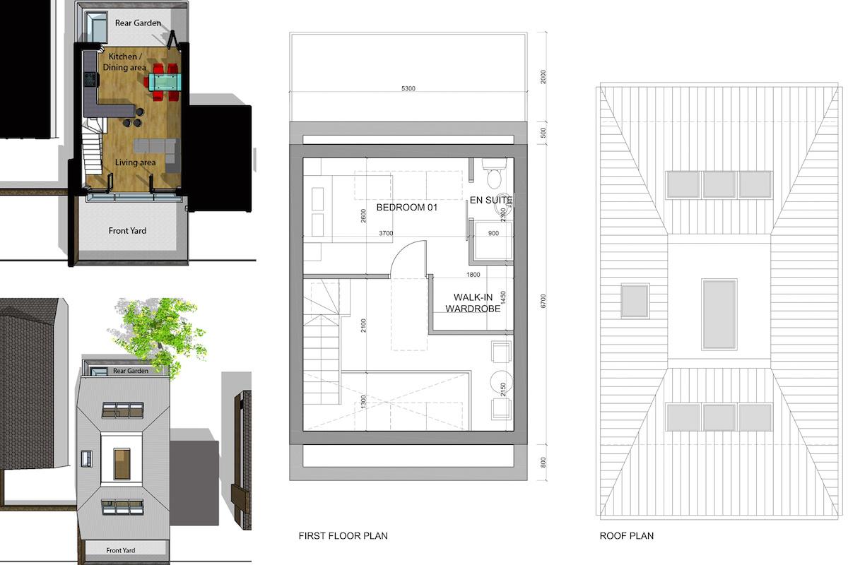 Southfields Wandsworth SW18 residential development – Architect design plan 1200x800 Southfields, Wandsworth SW18   Residential development