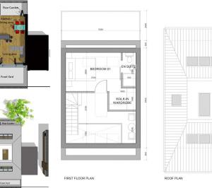 Southfields Wandsworth SW18 residential development – Architect design plan 300x266 Southfields, Wandsworth SW18   Residential development