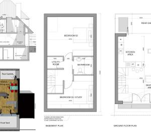 Southfields Wandsworth SW18 residential development – Architect design plans 300x266 Southfields, Wandsworth SW18   Residential development