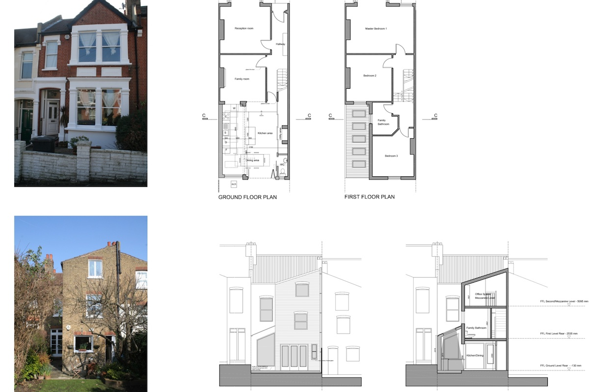 Streatham Hill Lambeth SW16 House extension design plans 1200x800 Streatham Hill, Lambeth SW16 | House extension