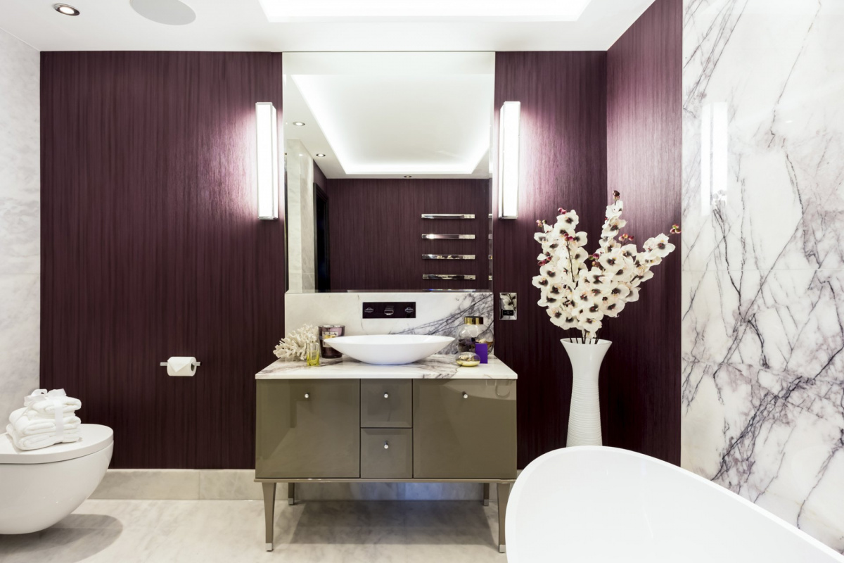 St James Park Westminster SW1H Penthouse alterations and refurbishment En suite bathroom 1 1200x800 St James Park, Westminster SW1H | Penthouse alterations and refurbishment