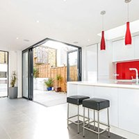 Architect designed rear house extension Herne Hill SE24 Lambeth – Kitchen 200x200 Lambeth residential architect projects