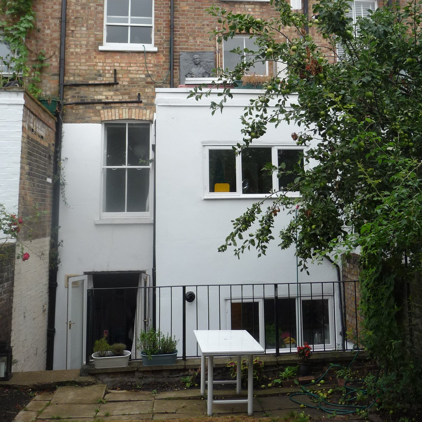 Chalk Farm Camden NW5 3QB Flat rear extension Rear elevation 200x200 Finchley Road, Camden NW3 | Flat extension
