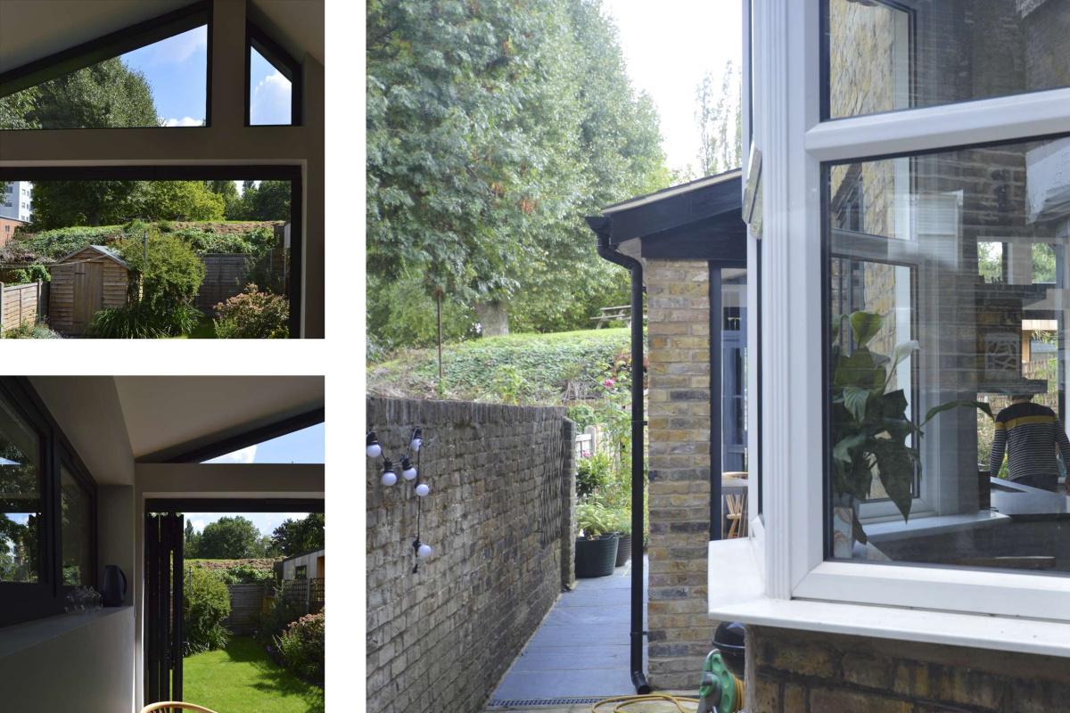 Nunhead Lewisham SE15 House kitchen extension – Long view 1200x800 Nunhead, Lewisham SE15   House kitchen extension