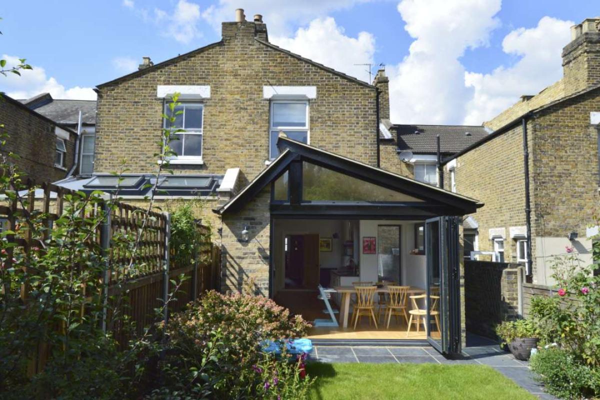 Nunhead Lewisham SE15 House kitchen extension – Rear elevation 2 e1582377720350 1200x800 Nunhead, Lewisham SE15   House kitchen extension