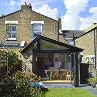 Nunhead Lewisham SE15 House kitchen extension – Rear elevation 200x200 Lewisham residential architect projects