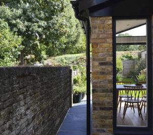 Nunhead Lewisham SE15 House kitchen extension – Side through view 300x266 Nunhead, Lewisham SE15   House kitchen extension
