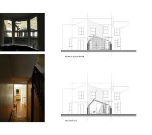 Nunhead Lewisham SE15 house kitchen extension – Architectural elevations 300x266 Nunhead, Lewisham SE15   House kitchen extension