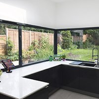 Architect designed Kilburn Brent NW2 kitchen house extension Kitchen 200x200 Garden flat extensions London | Home design