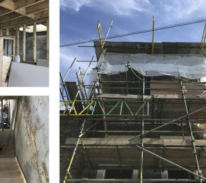 Architect designed mansard roof extension Finsbury Park Islington N7 Construction photos 1 300x266 Finsbury Park, Islington N7 | Mansard roof extension