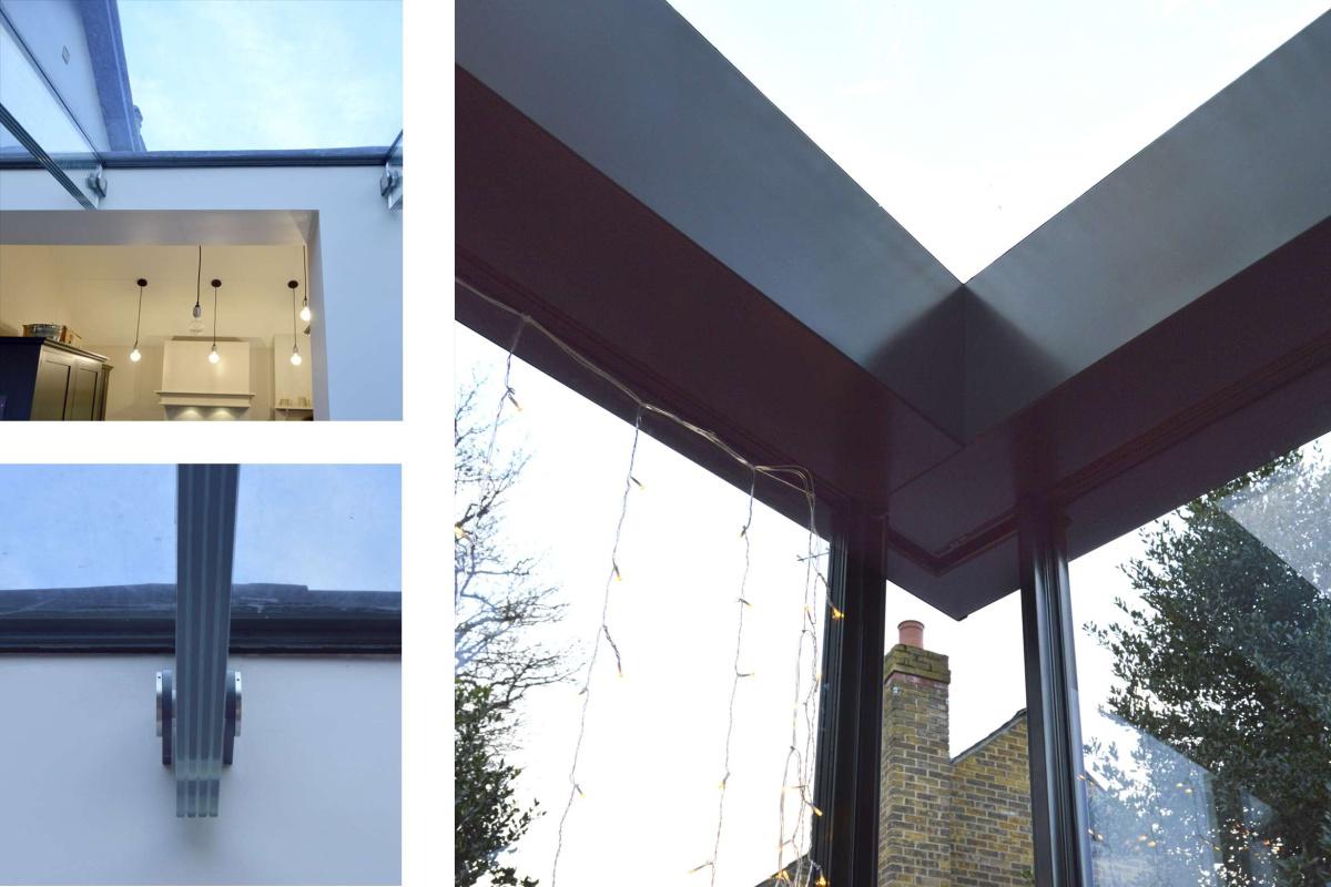 High Barnet EN5 Residential extension locally Listed house Glass detailing 1200x800 High Barnet EN5 | Locally Listed house extension