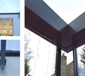 High Barnet EN5 Residential extension locally Listed house Glass detailing 300x266 High Barnet EN5 | Locally Listed house extension