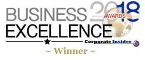 Business Excellence 2018 300x125 Words + Awards | GOA Studio